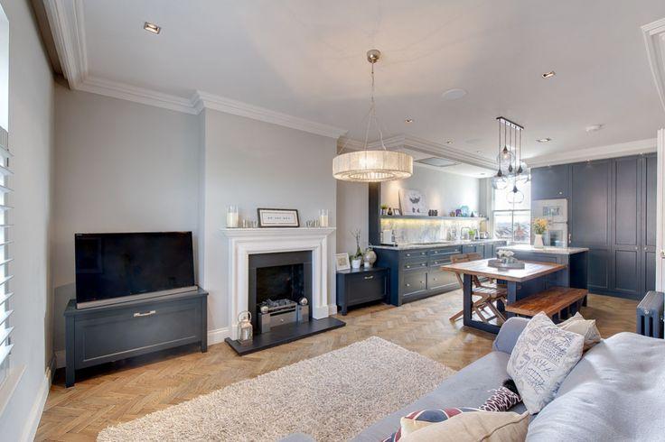 Neil Norton Design classic kitchen with a contemporary twist
