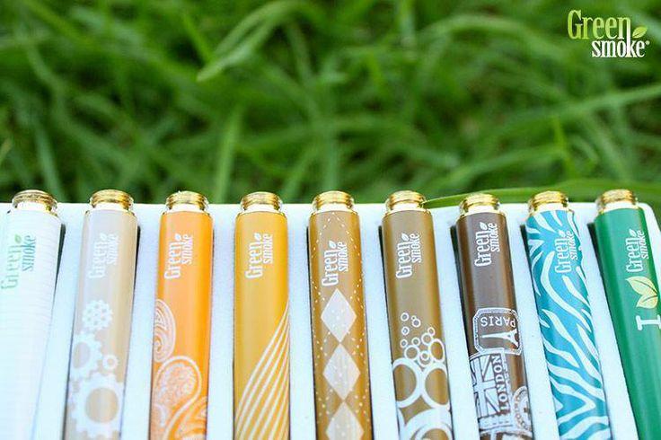 elektroninė cigaretė, dizaino baterijos