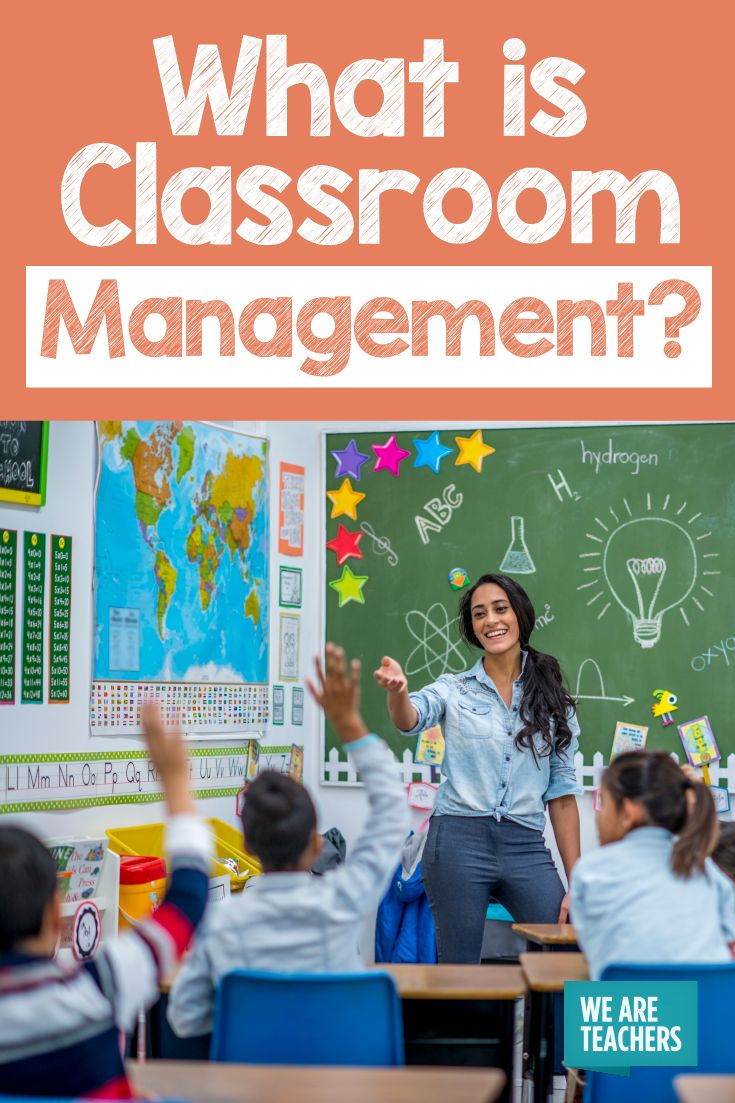"""What Is Classroom Management? A Guide for Newbie and Veteran Teachers - 4 tips with #2 a reference to """"Classroom Management: 4 Keys to Starting the Year off Right."""""""
