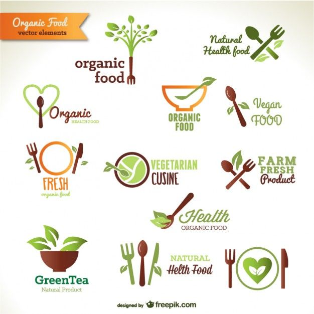 Organic Food Logos Free Organic gardening the correct way ...