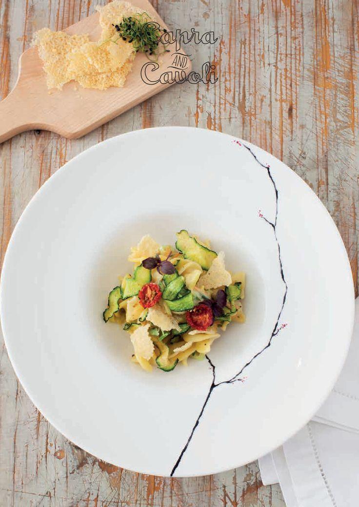 Beati i Primi - Carbonara vegetariana.  Non è la stessa cosa della Carbonara classica? Meglio così! (Chef Barbara Clementina Ferrario)