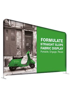 Ścianka Reklamowa Tekstylna Prosta 6,1m