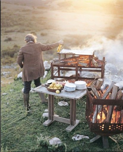 """Norberto Zas has a recipe for a great grilling session, Argentine-style: """"You need to have a good grill, you need to be near friends and you need to have a good glass of malbec.""""  The Argentine-born..."""