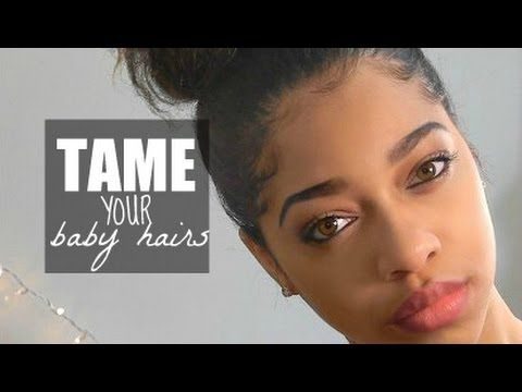 how to style s hair baby hair 101 how to slick amp lay edges black 2536