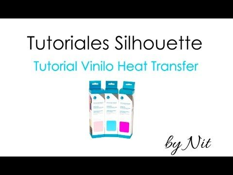 Planeta Silhouette » Tutorial sobre vinilo textil o vinilo heat transfer.