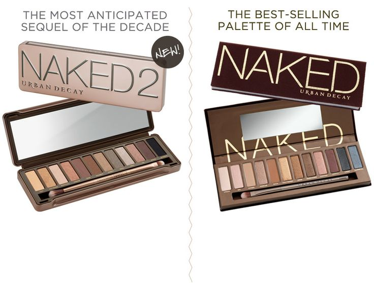 The best eyeshadow palette of all time! Love Naked, still waiting for Naked 2 to become available again! Can't wait to get it!