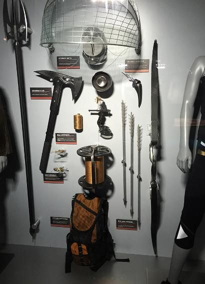 All the weapons featured in the arena from 'The Hunger Games: Catching Fire.'