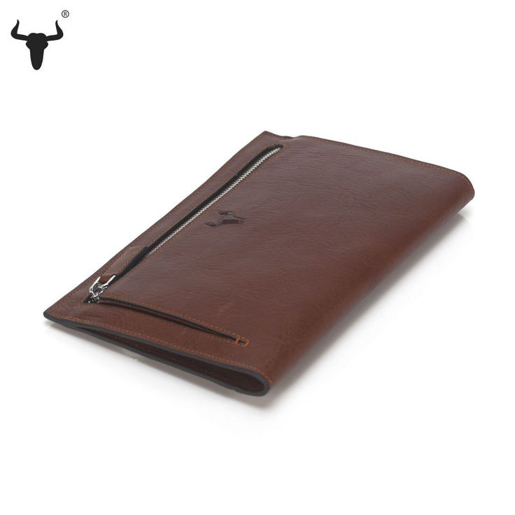 Top Grain Cowhide Genuine Leather Slim Clutch - Unisex - Pick Pay Post