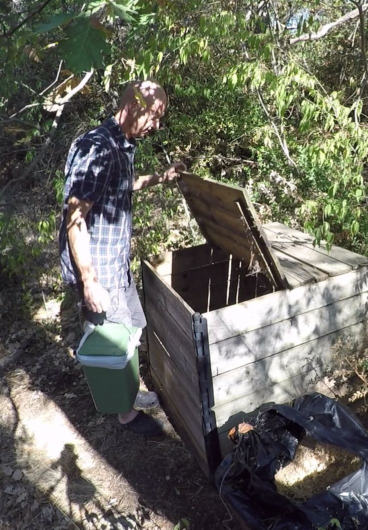 faire son compost composting pinterest. Black Bedroom Furniture Sets. Home Design Ideas