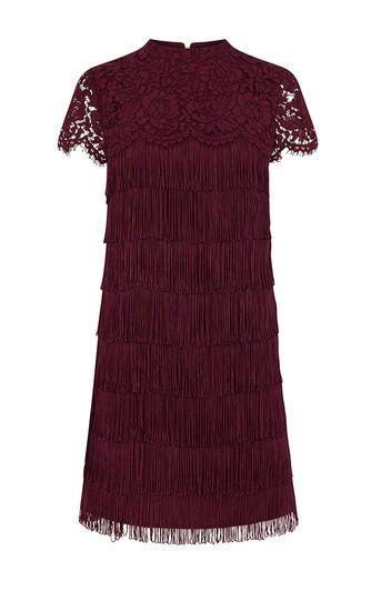 0d6ea3328b16 LACE AND FRINGE DRESS | Oasis | Style | Dresses, Fringe dress, Oasis ...