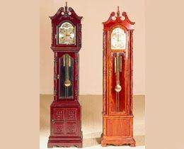 Oriental Grandfather Clocks | Rosewood Grandfather Clocks | Chinese Clocks | Asian Clocks