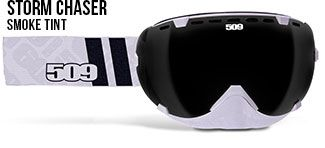 509 Goggles, Aviator Storm Chaser, Smoke tint lens for sunny days. Lens can easily be changed. NOK 1399,-