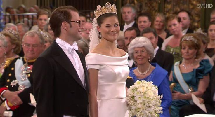 Koninklijke bruidsjurken - deel 4: Kroonprinses Victoria van Zweden | ModekoninginMaxima.nl