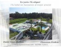 Ofertas, paquetes y programas especial Junio. Hotel Nuevo Vichona ¡Tu hotel en Sanxenxo! #vacaciones #Sanxenxo #RiasBaixas #Galicia #playa #escapadas #relax #piscinas #spa