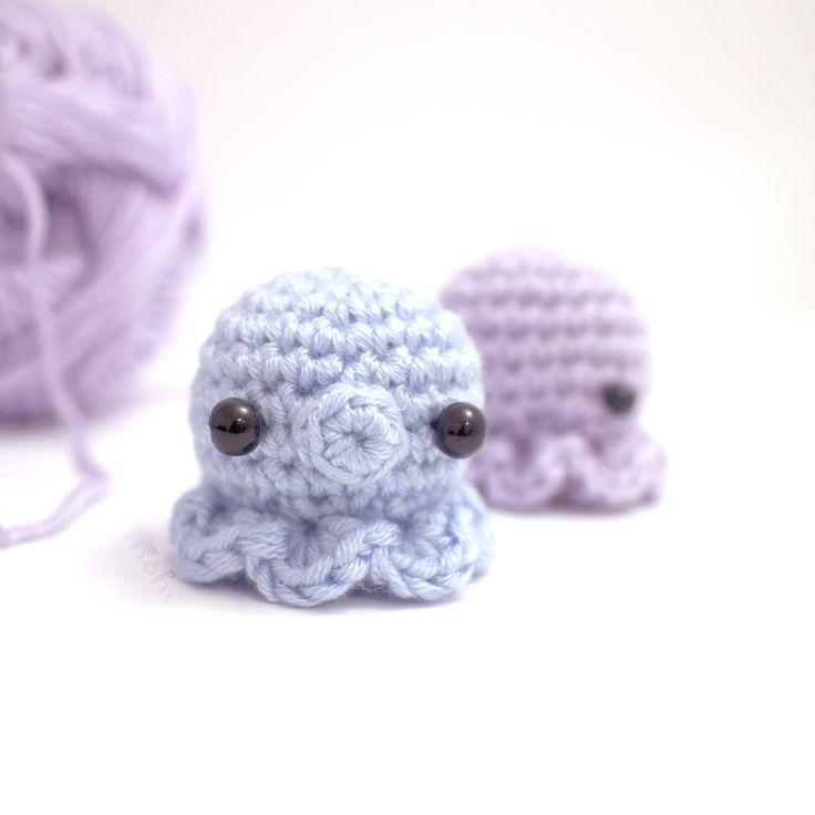Amigurumi Octopus Tutorial : 145 best images about Free amigurumi patterns on Pinterest ...