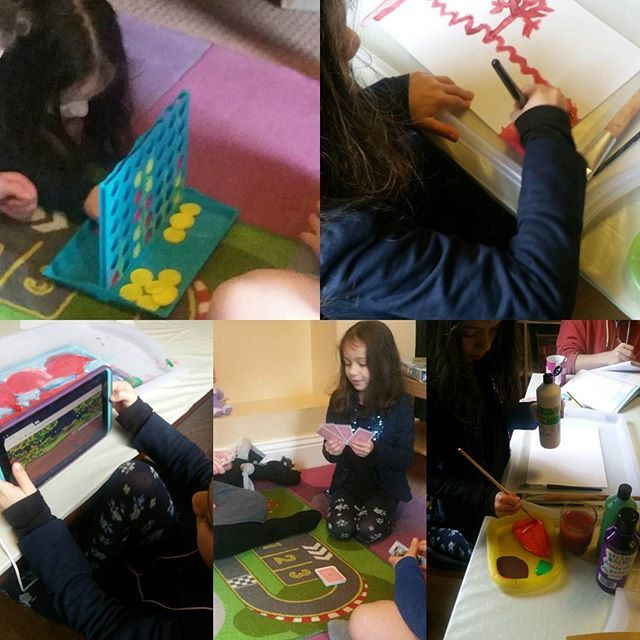 Day 14 of #100daysofhomeed and a mixed bag of a day .. a childminding day fir ne so amongst all the fee play we've had Art, Maths, English and board game play with the after school children #homeeducation #learning #doilookinvisible #welovehomeed #notinvisible #homeeducationuk https://homeeducatingtheminions.wordpress.com
