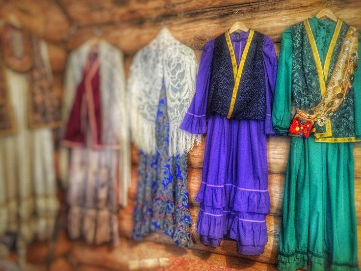 Татарские наряды. Музей чак-чака, Казань, Татарстан