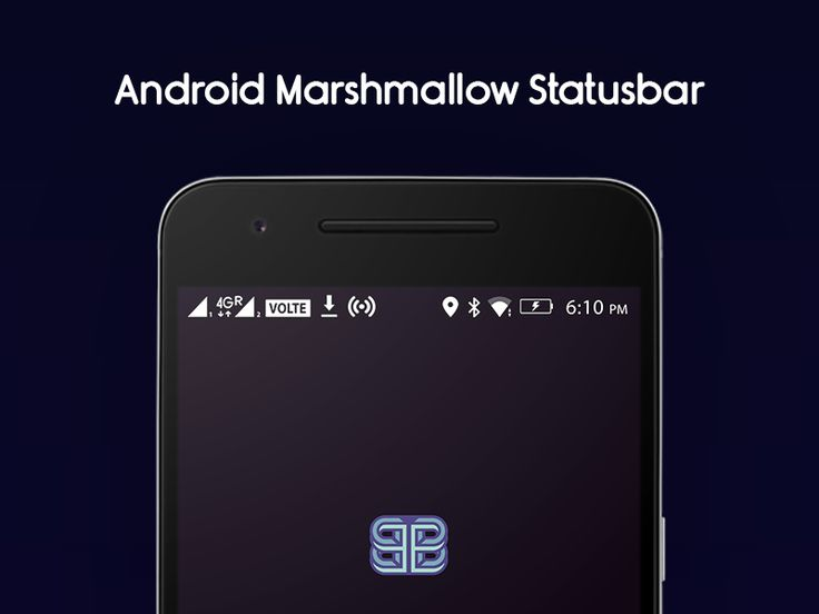 Android Marshmallow Status Bar Icons Freebie by Bharath Selvaraj
