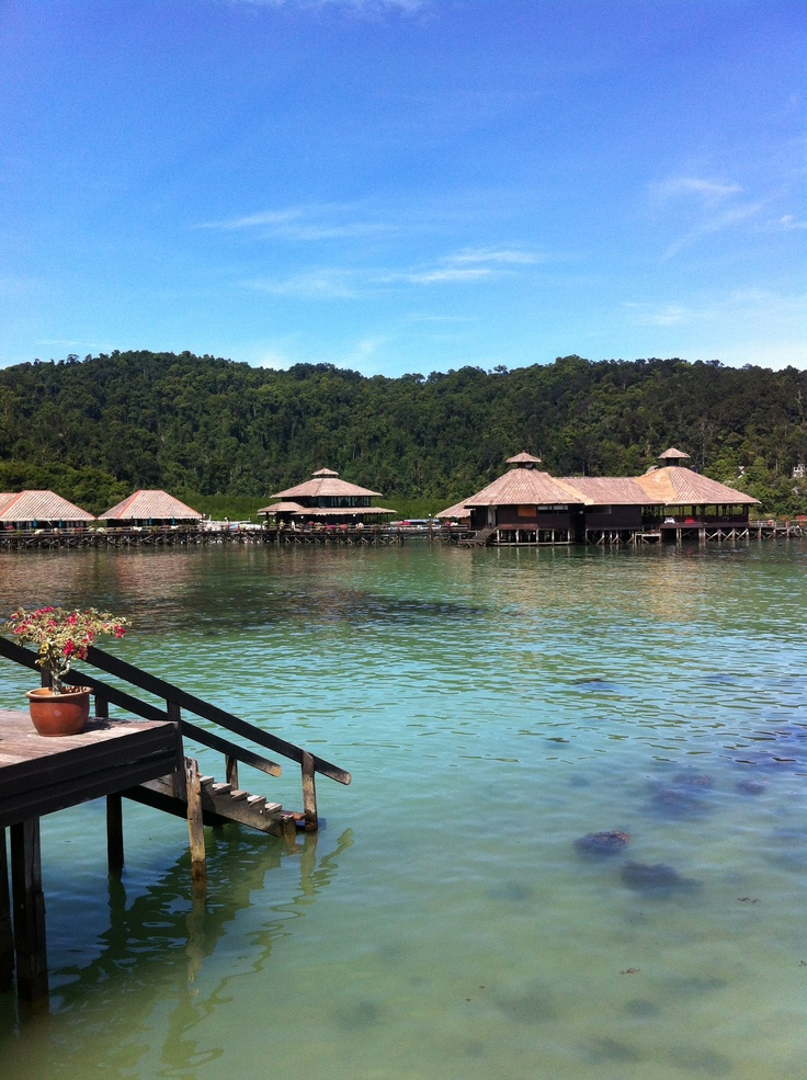 Honeymoon - Gaya Island