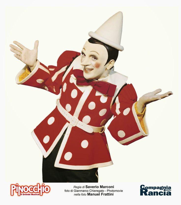 """TG Musical e Teatro in Italia: Ecco il cast di """"Pinocchio- il grande musical"""". Bando audizioni per il bambino."""