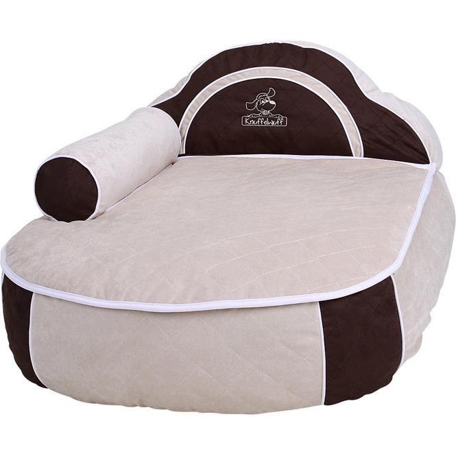 knuffelwuff lit pour chien avec oreiller et accoudoir 100 x 72 cm accoudoir oreiller et achat. Black Bedroom Furniture Sets. Home Design Ideas