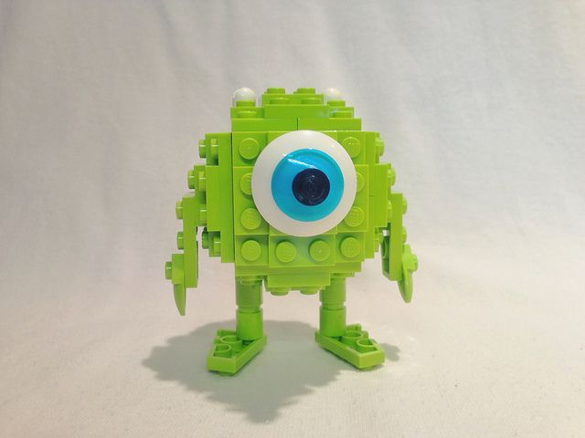 Lego Character from the movie Monster's INC