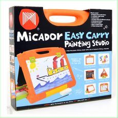 Easy Carry Painting Studio Code ECO01 EAN UPC 9313306023903 http://www.greenanttoys.com.au/shop-online/art-and-craft-toys-online-toy-store/drawing-materials-and-paint/micador-easy-carry-painting-studio/