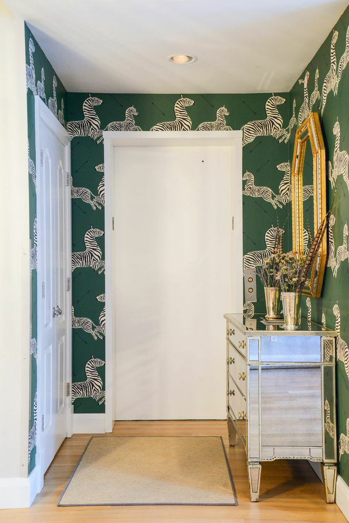 Foyer Wallpaper Game : Best zebra wallpaper ideas on pinterest