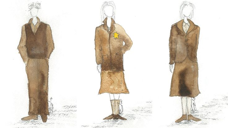 The Avon Theatre is opening its doors today for the first preview performance of #sfAnneFrank! Check out some of the beautiful costume designs for this production. Designs by Bretta Gerecke.