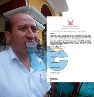 buenosdiascanete.blogspot.com: JNE DA LA RAZÓN AL ALCALDE DE CERRO AZUL Y DECLARA...