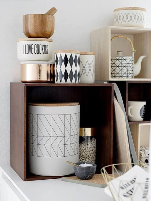Image via We Heart It https://weheartit.com/entry/166224903 #black #cooking #cup #design #style #tea #white #wood