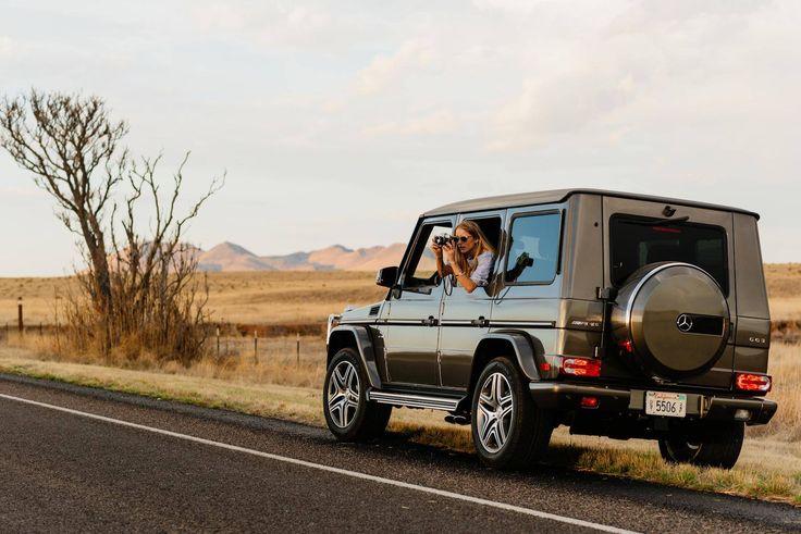 Kör in i solnedgången med Mercedes-AMG G 63. #MBPhotoCredit: David Alvarado via Mercedes-Benz USA