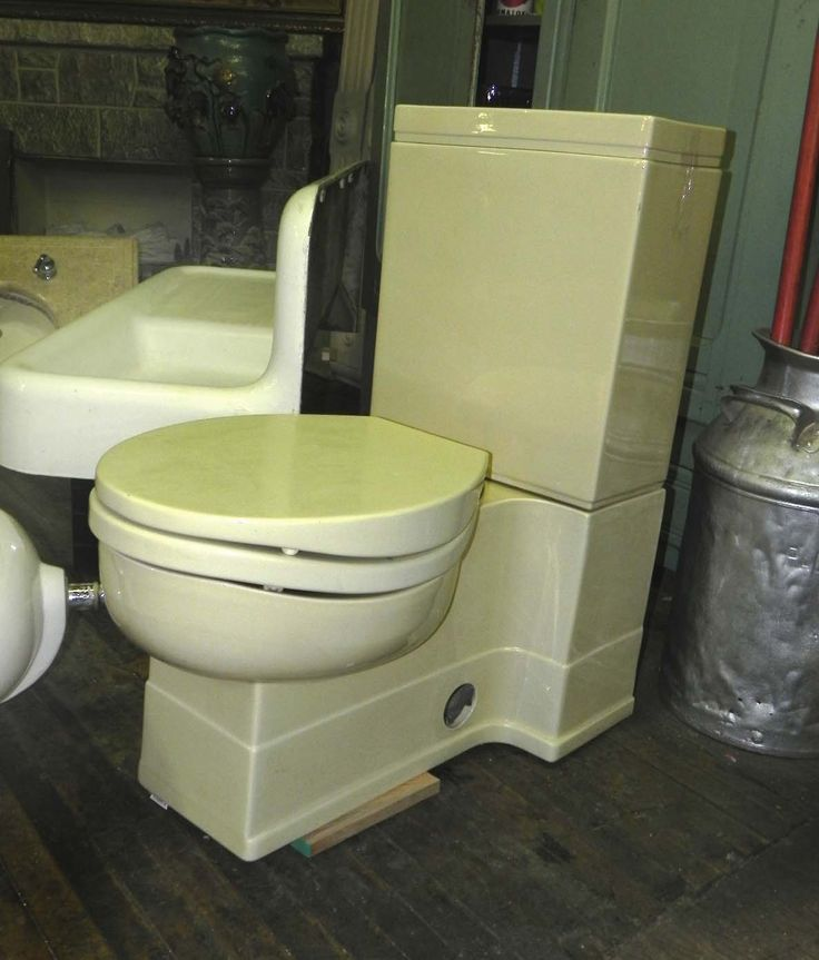 Crane neuvogue 1930 39 s toilet was considered the epitome of for What is considered antique