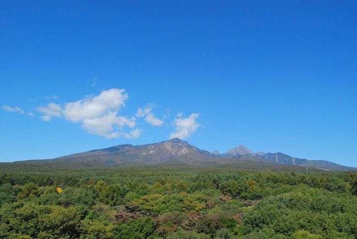 秋の八ヶ岳。
