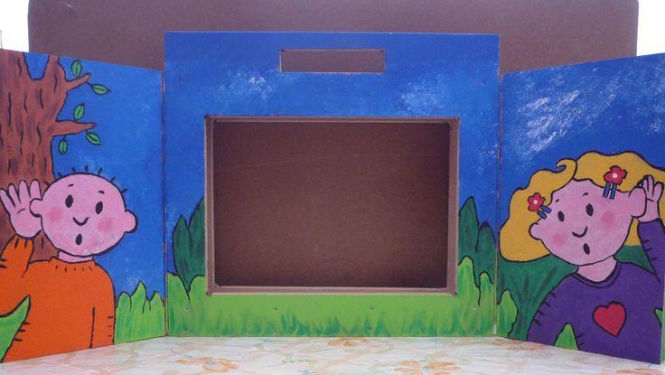 Kamishibai voor onze peuterklas binnenkant