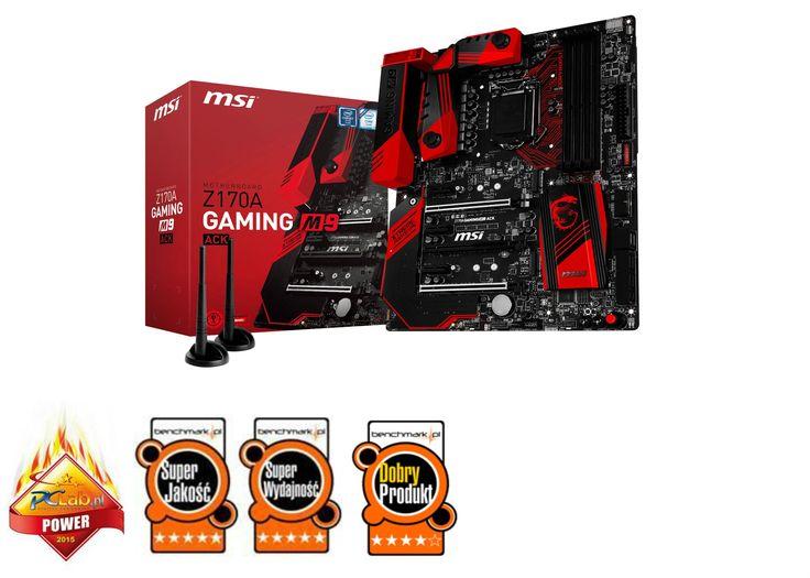 MSI Z170A Gaming M9 ACK, Z170, DDR4, SATA3, USB 3.1, ATX (7966-001R) w Morele.net