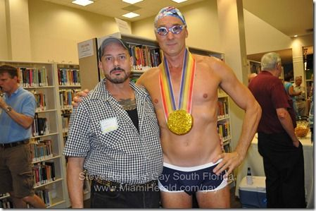 'WINNERS: LGBT Athletics in America' featured exhibit at Stonewall Museum in Fort Lauderdale: Cont Lauderdale, Official Open, Features Exhibitions, Open Tuesday, National Museums, Lgbt Athletic, Fort Lauderdale, Gay South, South Florida