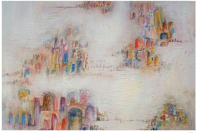 """Catia Chicchi (1964), nasce a Camaiore, dove vive e lavora. Ha frequentato l'Istituto Statale d'Arte """"Stagio Stagi"""" di Pietrasanta e successivamente l'Accademia di Belle Arti di Firenze, dove si è diplomata in Pittura nel 1989. Attualmente oltre all'attività di pittrice, è docente di Discipline Pittoriche presso l'Istituto d'Arte """"S.Stagi"""" di Pietrasanta."""