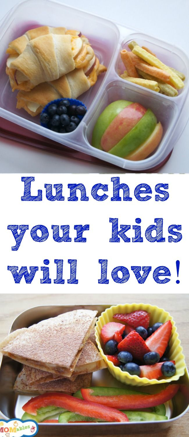 Simple and delicious lunch ideas that your kids will love - and you will too! Plus a giveaway for free lunch meal plans and a $15 Amazon gift card!