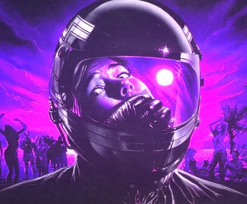 Image result for 80s synthwave art