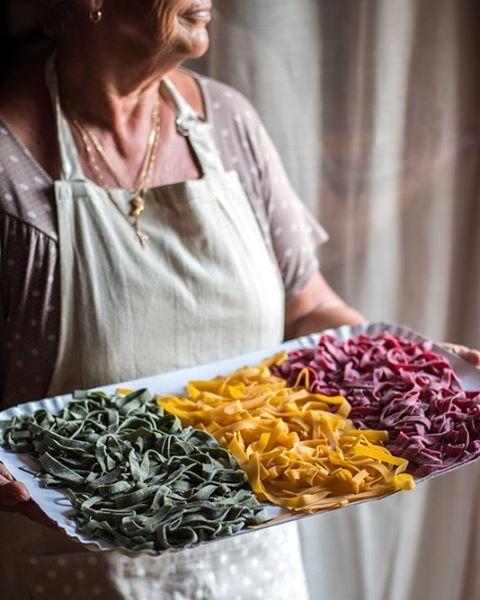 #pastacolorata fatta in casa. Цветная домашняя паста. #russianfoodie #russianfoodieproject #russianfoodieblogger