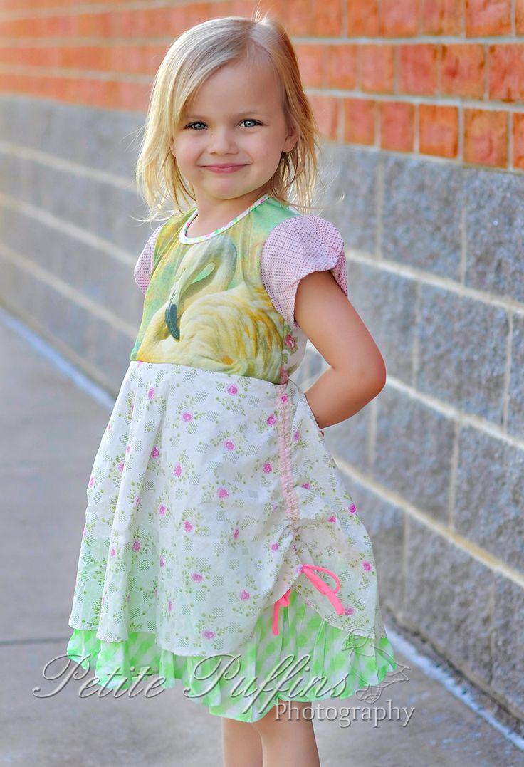 pink flamingo dress - PiNk tomaTiNa little girl dresses