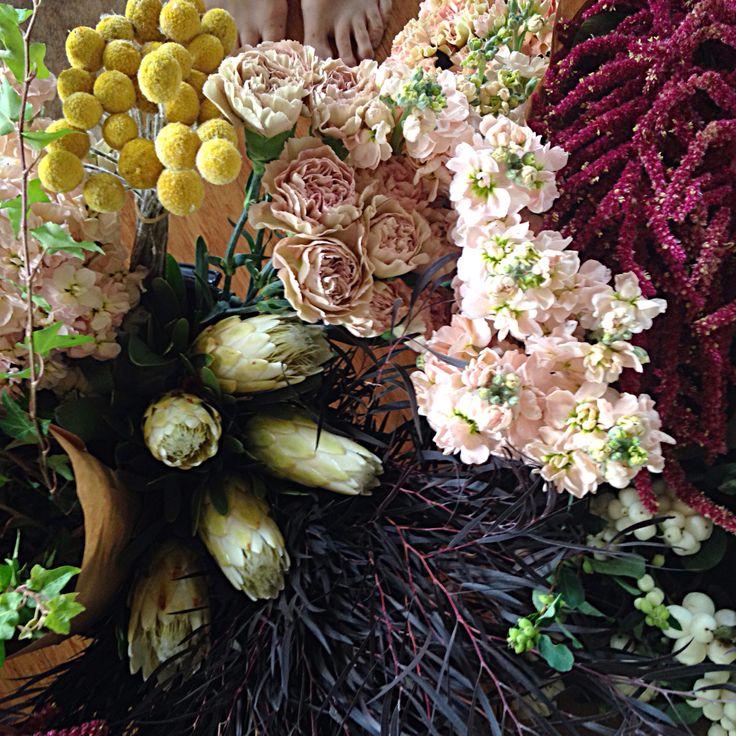 @fleetingbuds mixed mochas wedding flowers