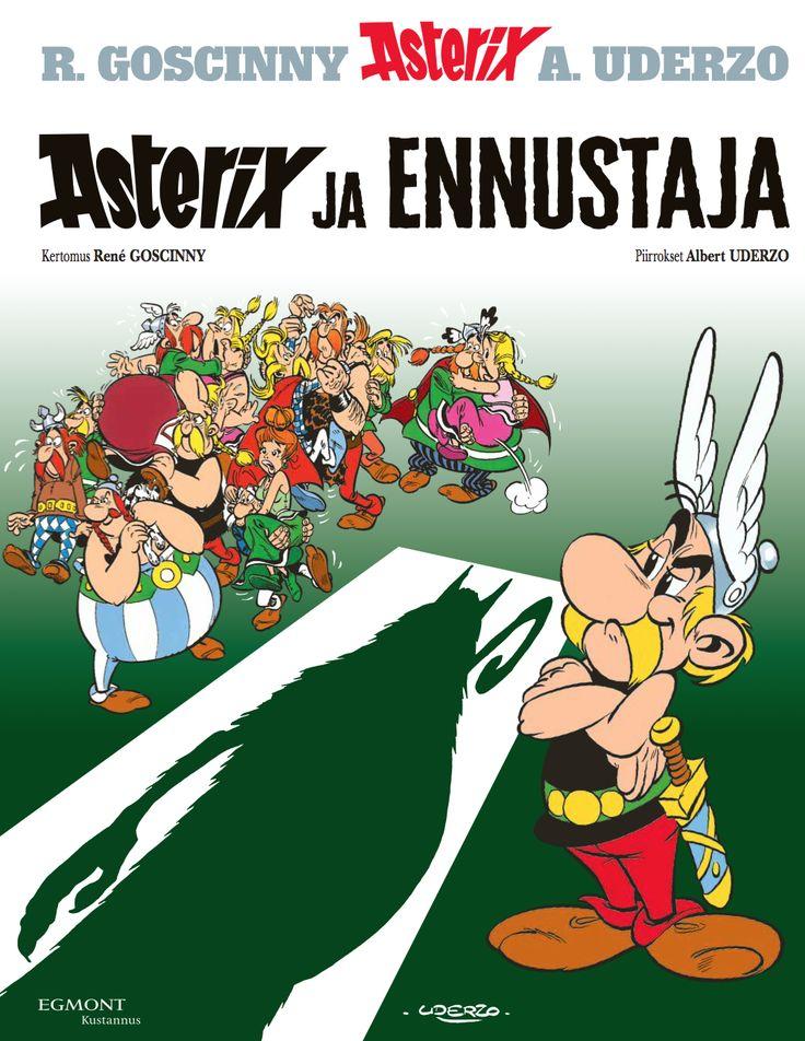 Asterix ja ennustaja kovissa kansissa nyt kirjakaupoissa! #sarjisparhaus #Asterix