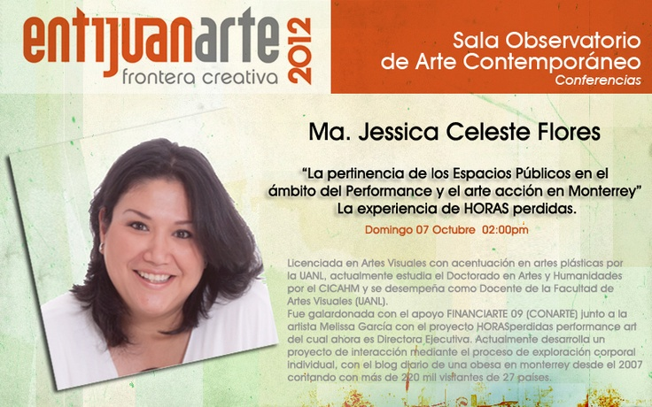 Conferencias Entijuanarte 2012