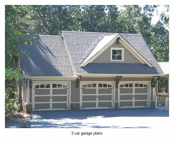 17 best ideas about 3 car garage plans on pinterest 4 for 3 car garage with loft