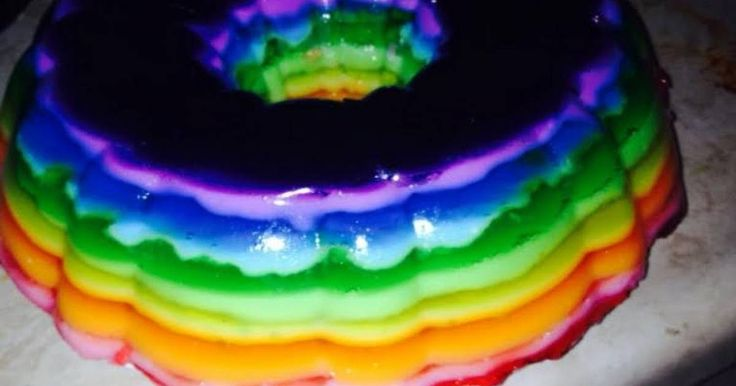 How to prepare recipe for Rainbow Jello Shot Cake! Learn how to make and how to cook this easy and delicious recipe posted by Tina_colada_81