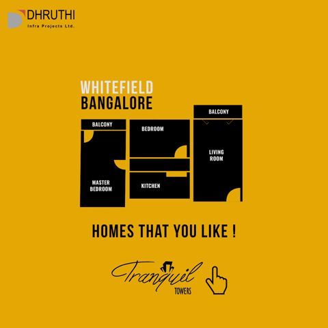 Come find the homes you will LIKE, for a healthy lifestyle, for serenity and for the love of life. Tranquil Towers goo.gl/lF2ZLo, comfort filled homes at Whitefield, Bangalore.