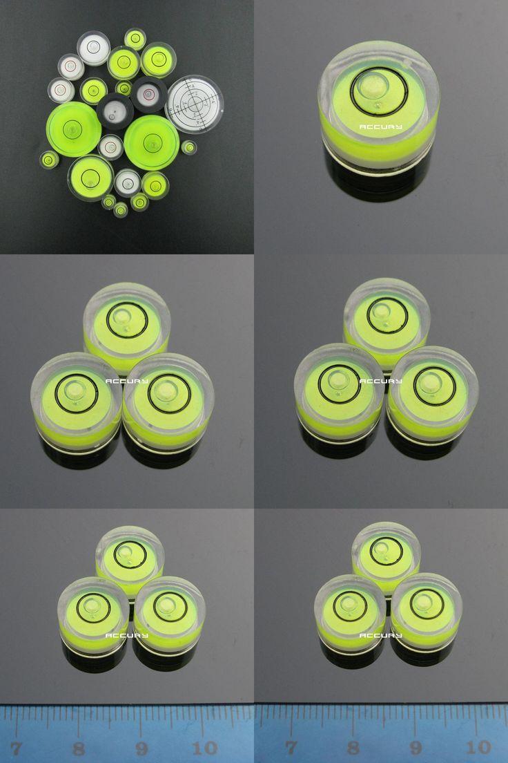 [Visit to Buy] 1pcs 12*7mm Precision level Universal level Round Plastic vial Mini bubble level for Camera Hanging horizontal ruler #Advertisement