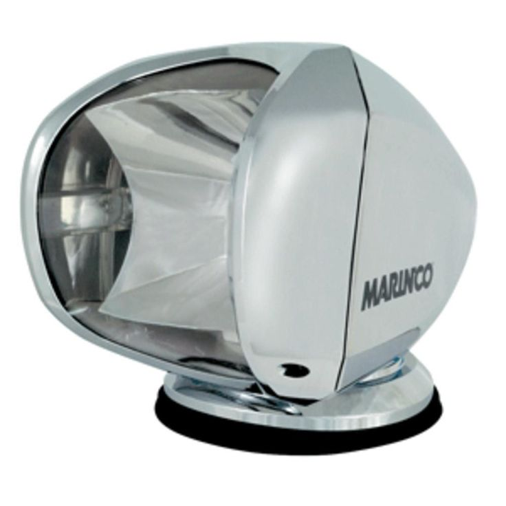 Marinco SPL-12C Wireless Spot Light - 100W - 12/24V - Chrome